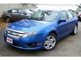 2011 Blue Flame Metallic Ford Fusion SE #38794531