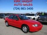 2003 Victory Red Chevrolet Cavalier Sedan #38794554