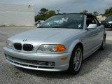 2001 Titanium Silver Metallic BMW 3 Series 330i Convertible #38794558