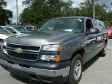 2007 Graystone Metallic Chevrolet Silverado 1500 Classic LS Extended Cab #38794576