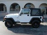 2006 Stone White Jeep Wrangler X 4x4 #376695