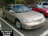 2002 Naples Gold Metallic Honda Accord EX Sedan #38917033