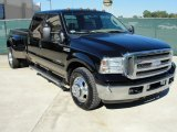 2005 Black Ford F350 Super Duty Lariat Crew Cab Dually #38917614