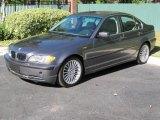 2002 Steel Grey Metallic BMW 3 Series 330i Sedan #38917333