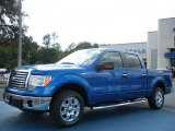 2010 Blue Flame Metallic Ford F150 XLT SuperCrew #38917345