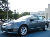 2011 Steel Blue Metallic Ford Fusion SE #38917358