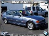 2000 Steel Blue Metallic BMW 3 Series 323i Sedan #38917636