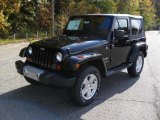 2011 Black Jeep Wrangler Sahara 4x4 #38918049
