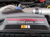 2007 Ford F550 Super Duty XL Regular Cab Flat Bed 6.0 Liter OHV 32-Valve Power Stroke Turbo-Diesel V8 Engine