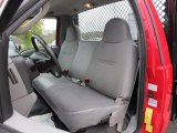 2007 Ford F550 Super Duty XL Regular Cab Flat Bed Medium Flint Interior