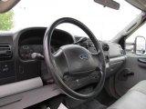 2007 Ford F550 Super Duty XL Regular Cab Flat Bed Steering Wheel