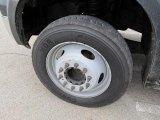 2007 Ford F550 Super Duty XL Regular Cab Flat Bed Wheel