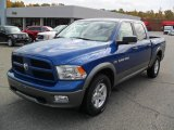2011 Deep Water Blue Pearl Dodge Ram 1500 SLT Outdoorsman Crew Cab #38918056