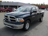 2011 Hunter Green Pearl Dodge Ram 1500 SLT Quad Cab #38918057