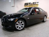 2008 Jet Black BMW 3 Series 328xi Coupe #38917379