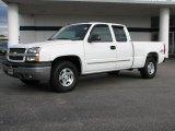 2003 Summit White Chevrolet Silverado 1500 LT Extended Cab 4x4 #38917698