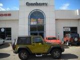2010 Rescue Green Metallic Jeep Wrangler Sport Mountain Edition 4x4 #38917405