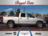 2008 Bright Silver Metallic Dodge Ram 1500 Big Horn Edition Quad Cab 4x4 #38917167