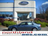 2011 Steel Blue Metallic Ford Fusion SE #38917193