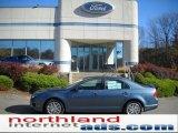 2011 Steel Blue Metallic Ford Fusion SEL #38917196