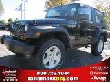 2011 Black Jeep Wrangler Sport S 4x4 #38917487