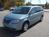 2010 Clearwater Blue Pearl Chrysler Town & Country Touring #38918163