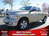 2011 White Gold Dodge Ram 1500 Big Horn Quad Cab #38917494
