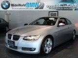 2008 Titanium Silver Metallic BMW 3 Series 335i Coupe #38917208