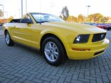 2006 Ford Mustang Screaming Yellow