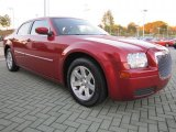2007 Chrysler 300 Inferno Red Crystal Pearlcoat