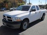 2011 Bright White Dodge Ram 1500 ST Quad Cab #38918170