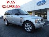2005 Zambezi Silver Metallic Land Rover Range Rover HSE #38917509