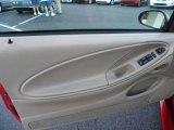 2000 Ford Mustang V6 Convertible Door Panel