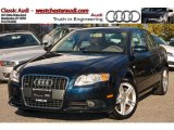 2008 Deep Sea Blue Pearl Effect Audi A4 2.0T quattro Sedan #38917837