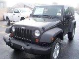 2011 Black Jeep Wrangler Sport S 4x4 #38917251