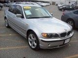 2005 Titanium Silver Metallic BMW 3 Series 330xi Sedan #38917864