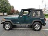 1995 Jeep Wrangler Emerald Green Pearl