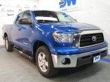 2008 Blue Streak Metallic Toyota Tundra SR5 Double Cab 4x4 #38917882