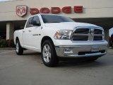 2011 Bright White Dodge Ram 1500 Big Horn Quad Cab 4x4 #38917900