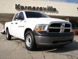 2011 Bright White Dodge Ram 1500 ST Quad Cab #38917905