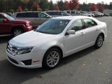 2010 White Platinum Tri-coat Metallic Ford Fusion SEL V6 #38917938