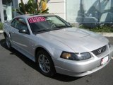 2003 Silver Metallic Ford Mustang V6 Coupe #3899422