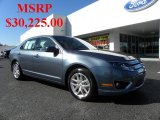 2011 Steel Blue Metallic Ford Fusion SEL V6 #39006241