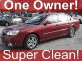 2007 Sport Red Metallic Chevrolet Malibu LT Sedan #39006048