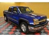 2004 Arrival Blue Metallic Chevrolet Silverado 1500 Z71 Crew Cab 4x4 #39006446