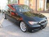 2007 Black Sapphire Metallic BMW 3 Series 335i Sedan #39006670