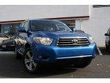 2008 Blue Streak Metallic Toyota Highlander Sport 4WD #39006676