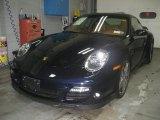 2008 Midnight Blue Metallic Porsche 911 Turbo Coupe #39006502