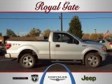 2010 Ingot Silver Metallic Ford F150 STX Regular Cab #39006106