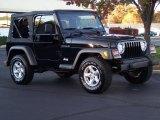 2002 Jeep Wrangler Black